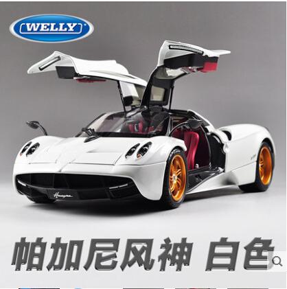 Pagani Huayra Zonda 1 18 Welly Gta Original Simulation Alloy Car