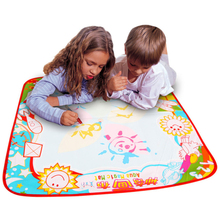 Excellent Quality Doodle Childrens Drawing Toys with Magic Pen Educational Toy with 1 Mat+ 1 Water(China (Mainland))
