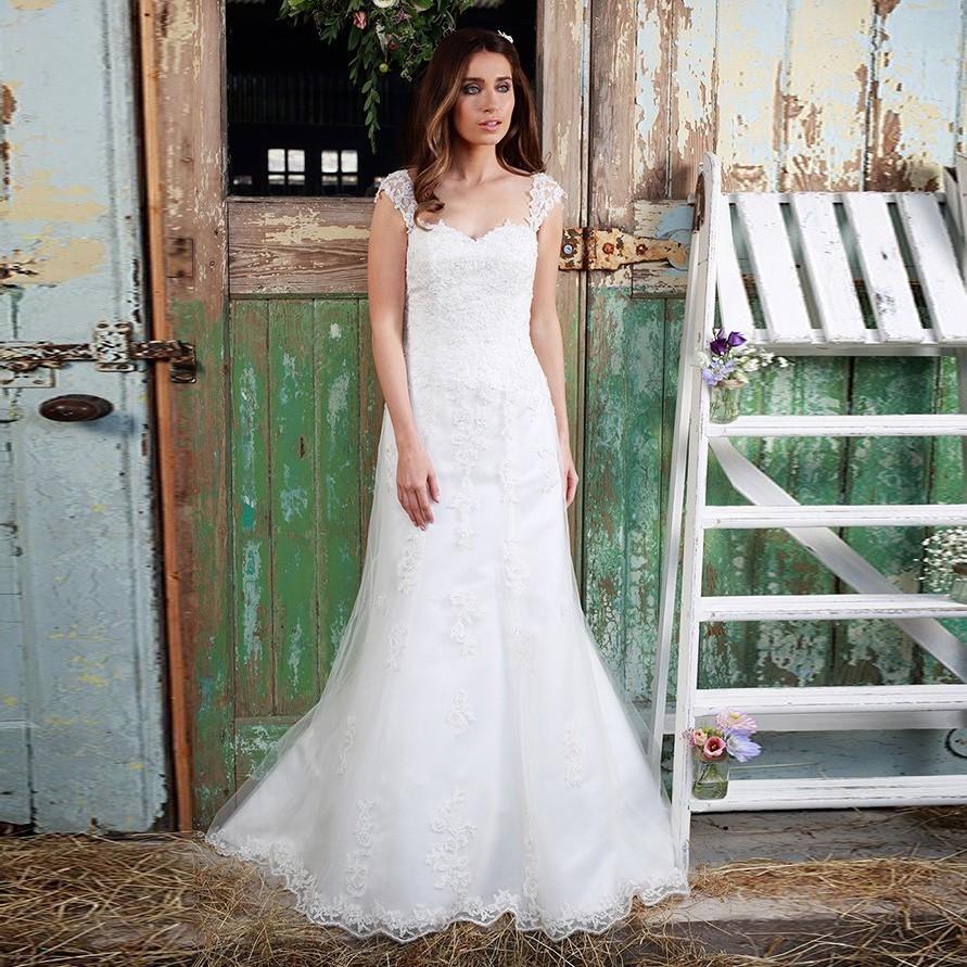 Lace Sweetheart Wedding Dress: Applique Mermaid Wedding Dress 2016 Lace Wedding Dress