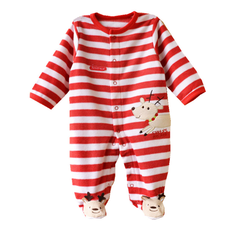 Winter Baby Rompers Newborn-9Months Boy Girl  Christmas Clothes Romper for Babies Bebes Similar Carters Baby Clothing<br><br>Aliexpress