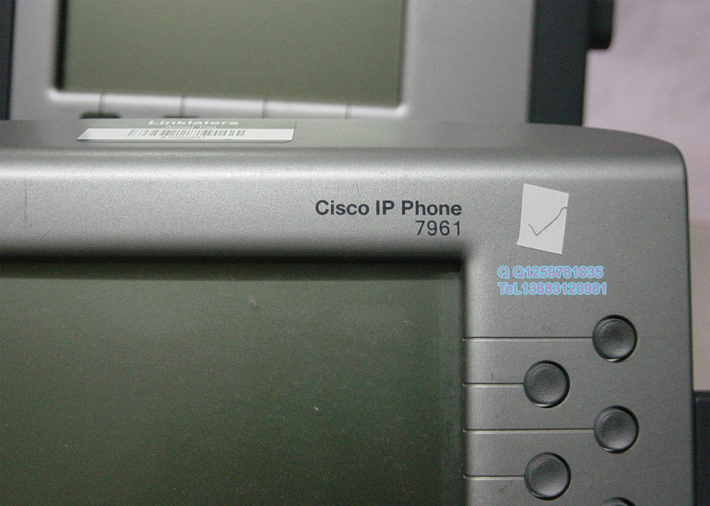 [Cisco] CiscoCP-7961G IP Phone Network PBX lose money thrown! !(China (Mainland))