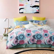Fashion style bedding sets 4pcs Twin/Single/Double/Queen size 100%cotton duvet cover+bedsheet+pillowcase linen bedcover set(China (Mainland))