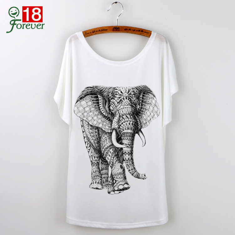 Tshirt elephant reviews online shopping tshirt elephant for Animal tee shirts online