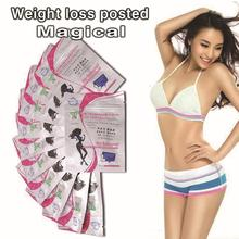 10pc Genuine AQISI 7 day quick slimming thin paste lazy people lose weight slimming patch sleeping stickers free shipping on fat