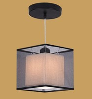 Buy Black square lamp chandelier corridor aisle lights porch lamp ceiling lamps LED hotel foyer light home lamp free for $26.60 in AliExpress store
