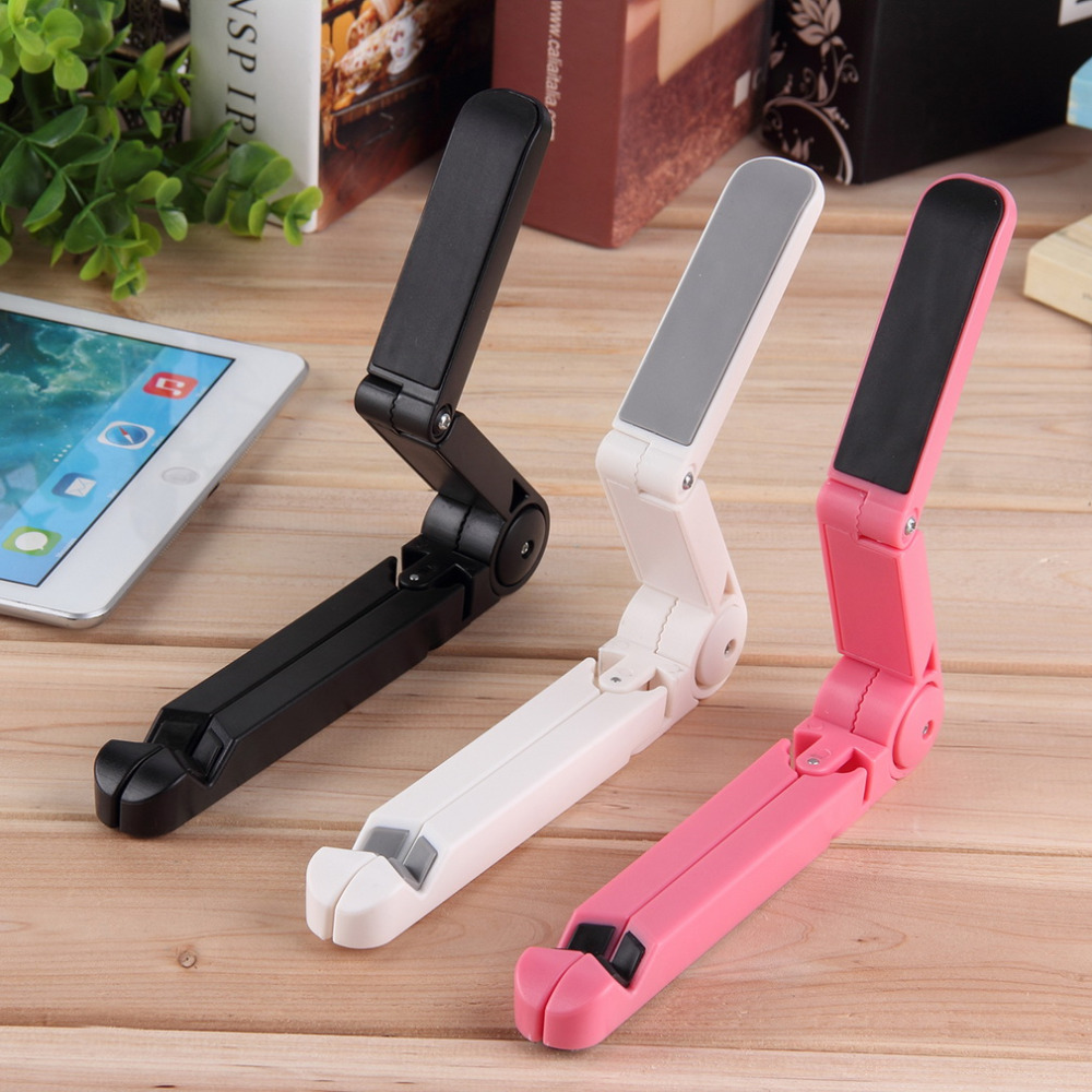 Folding Adjustable Desk Holder Mount Stand For iPhone Galaxy Tablet for iPad Air Promotion(China (Mainland))