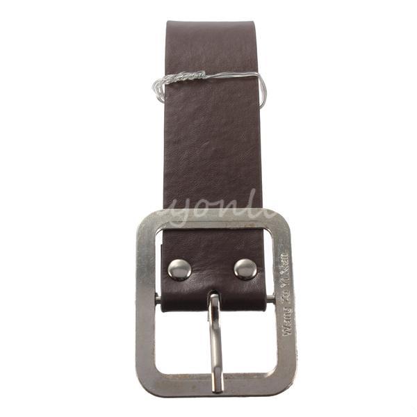 Cheapest High Quality Retro Classic Sassy Fashion Design Men Man Metal Business Casual Dress Leather Single