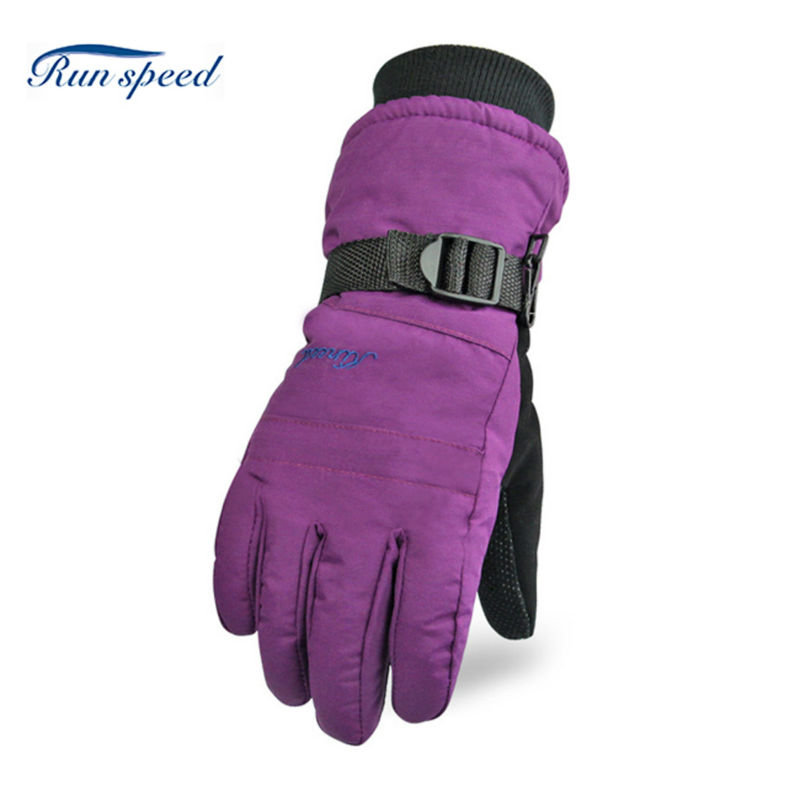 Hot Sale 5 Colors Outdoor Winter Gloves Warm Ski Gloves For Women Waterproof Sport Windstopper Windproof Gloves WHX005(China (Mainland))