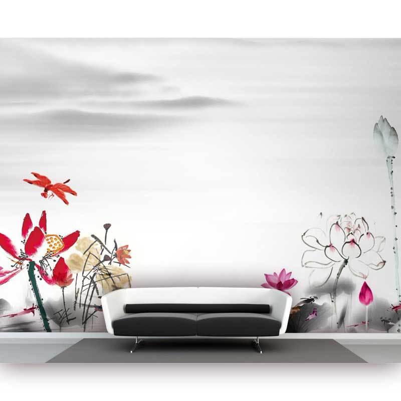 Barato verde fondo de pantalla personalizado loto fish for Mobiliario oficina barato
