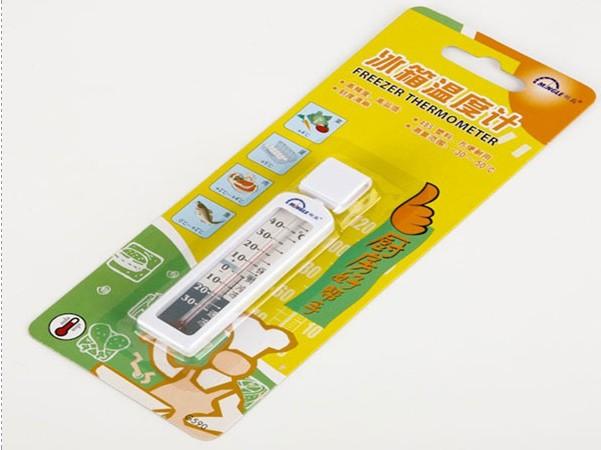 Evening g590 refrigerator thermometer humidicooling freezer thermometer refrigerator thermometer(China (Mainland))
