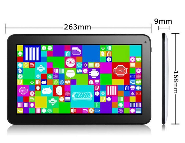 Free Shipping 10 inch Android Tablet 1024*600 A83T Octa Core 1.3GGHz 2GB+32GB Dual Camera, Supports HDMI WIFI 3G External(China (Mainland))