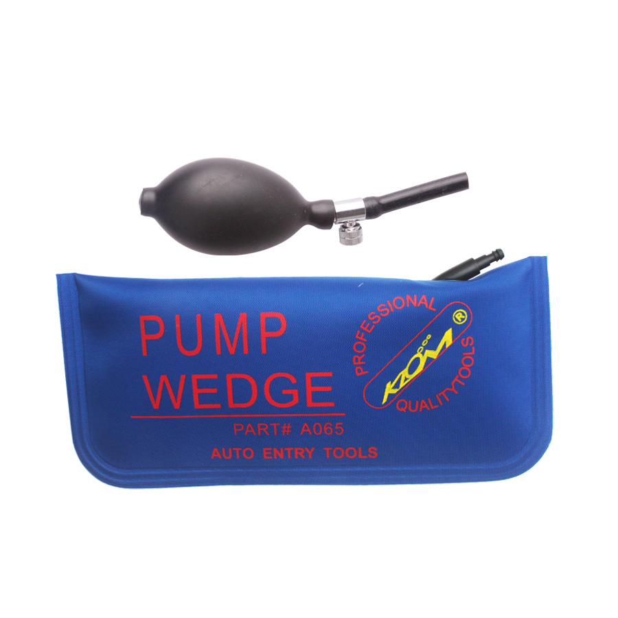 Brand New KLOM ( Big Size ) Air Wedge Locksmith Tools Car/Auto Door Opener Locksmith Supplies(China (Mainland))