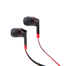 HOT Sale 3.5mm In-Ear Stereo Sound Line Control Earphone Headphone with Mic for iPod MP4 iPhone Smartphone(China (Mainland))