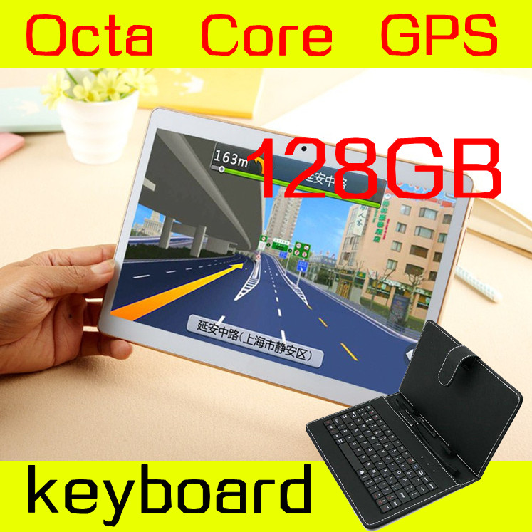 10 inch tablet 1280X800 IPS 8 octa core 4GB ram ROM 128GB 3G mtk6592 Dual SIM card phone call Android Tablet PC GPS Mini 5.1(China (Mainland))