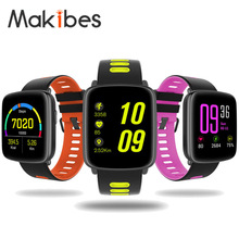 Buy Makibes GV68 Waterproof IP68 Sports Bluetooth Smart Watch MTK2502 Message Call Reminder Remote Camera IOS/Android for $52.99 in AliExpress store