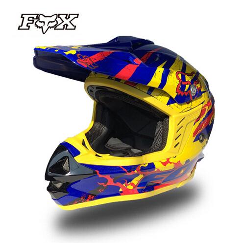 ECE Approval Fox ATV Motocross Helmet Racing Helmets Men Off-Road Capacete Moto Casco