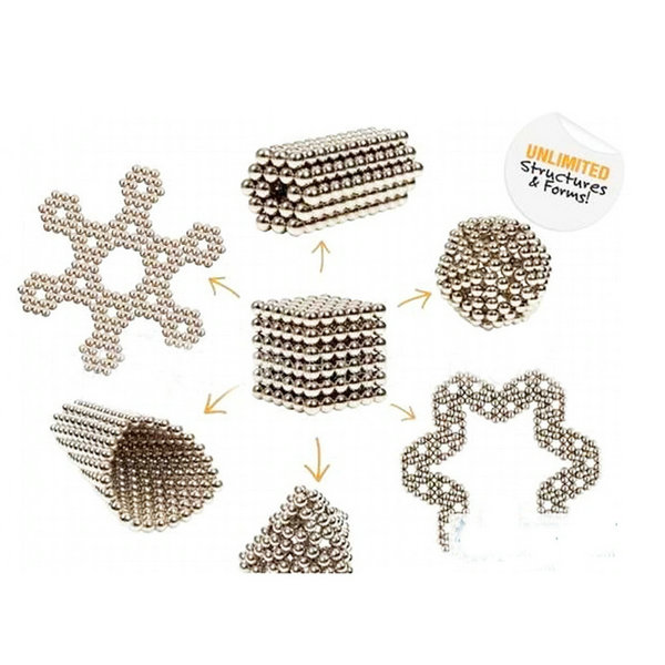 Creative 216Pcs 3mm Small Magnetic Balls Building Spheres Balls Magic Cube Puzzle Toy Gift(China (Mainland))