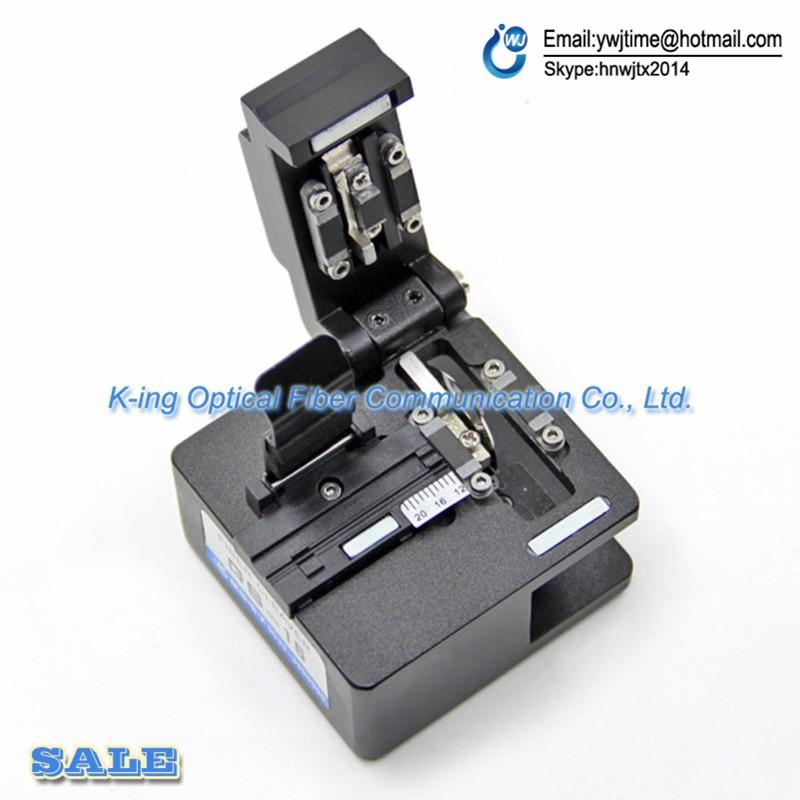Buy GS-15 High precision fiber cleaver Optical fiber cutting knife FTTH Hot melt cold pick up tools Optical fiber cutter cheap