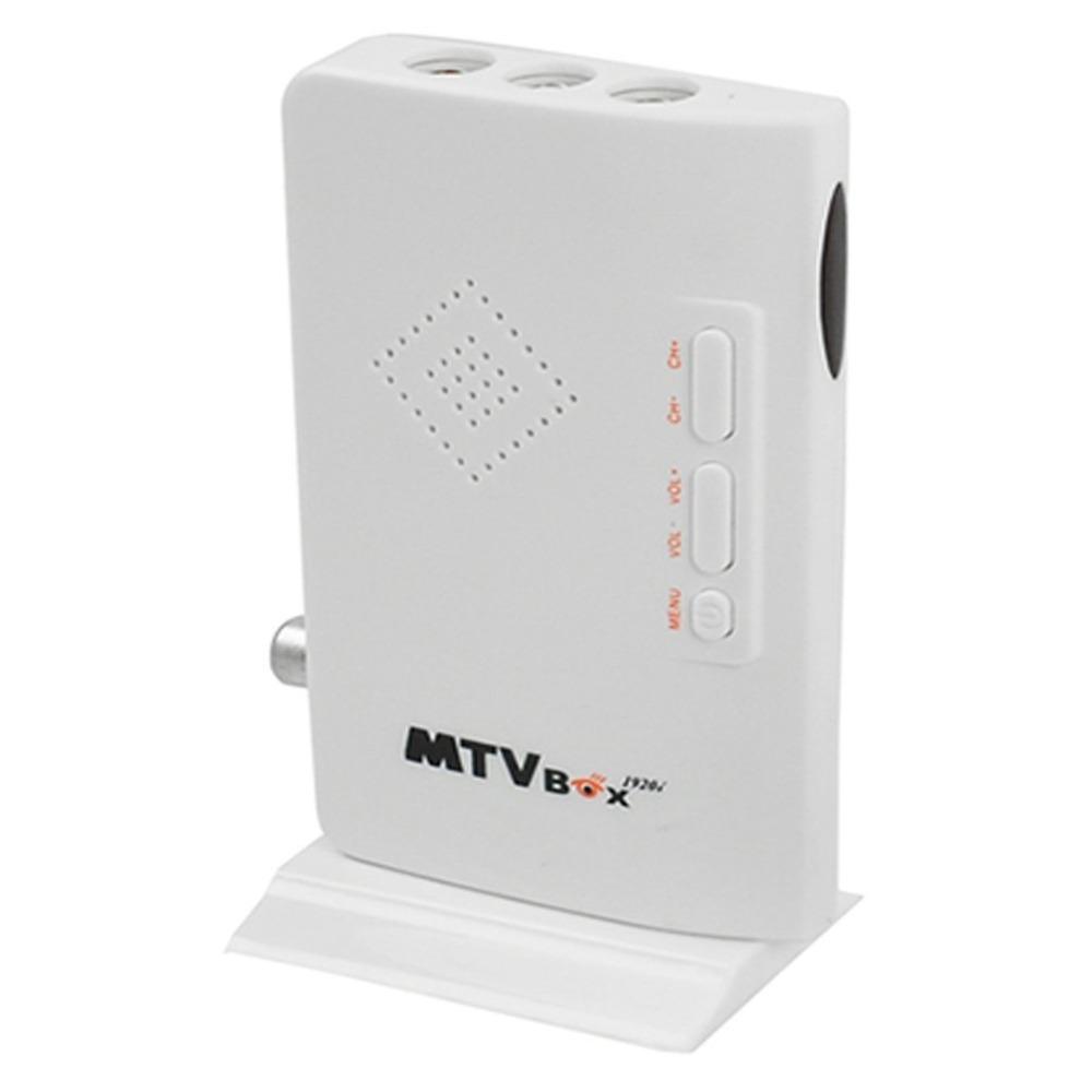 2015 New External HD LCD CRT VGA External TV Tuner MTV Box PC BOX Receiver Tuner HD 1080PTV Box AV To VGA With Remote Control(China (Mainland))