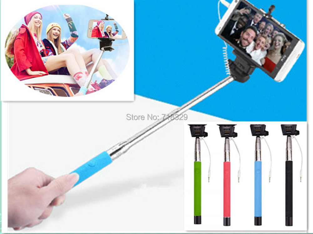 New Arrival Phone Tripod Accessories Salfie Handheld Stick Portable Extension Monopod For Iphone/Samsung/ Android Mobile(China (Mainland))