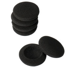 Wholesale Price 6xReplacement Earphone Ear Pad Earpads Sponge Soft Foam Cushion For Koss For Porta Pro PP Black Color