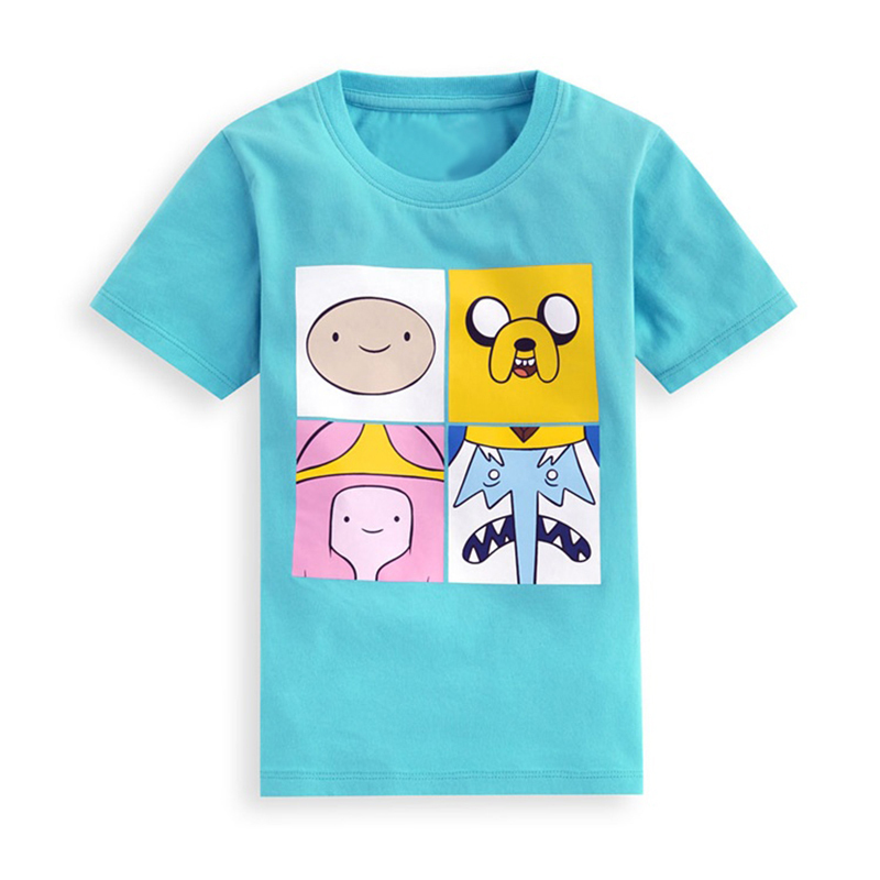 Elf Captain Children Clothing Boys T-shirt Boy Fashion Summer Suit Baby Adventure Time Short T Shirt Clothes Suit Free Fhipping(China (Mainland))