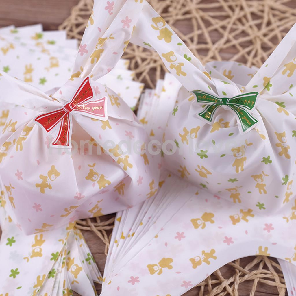 100pcs Homemade Bakery Cookie Soap Gift Candy Loot BAG Wedding Party Favor 2 Colors(China (Mainland))