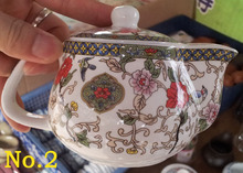 4 designs 250ml ceramic teapot with filter porcelain cup chinese kung fu tea set easy to