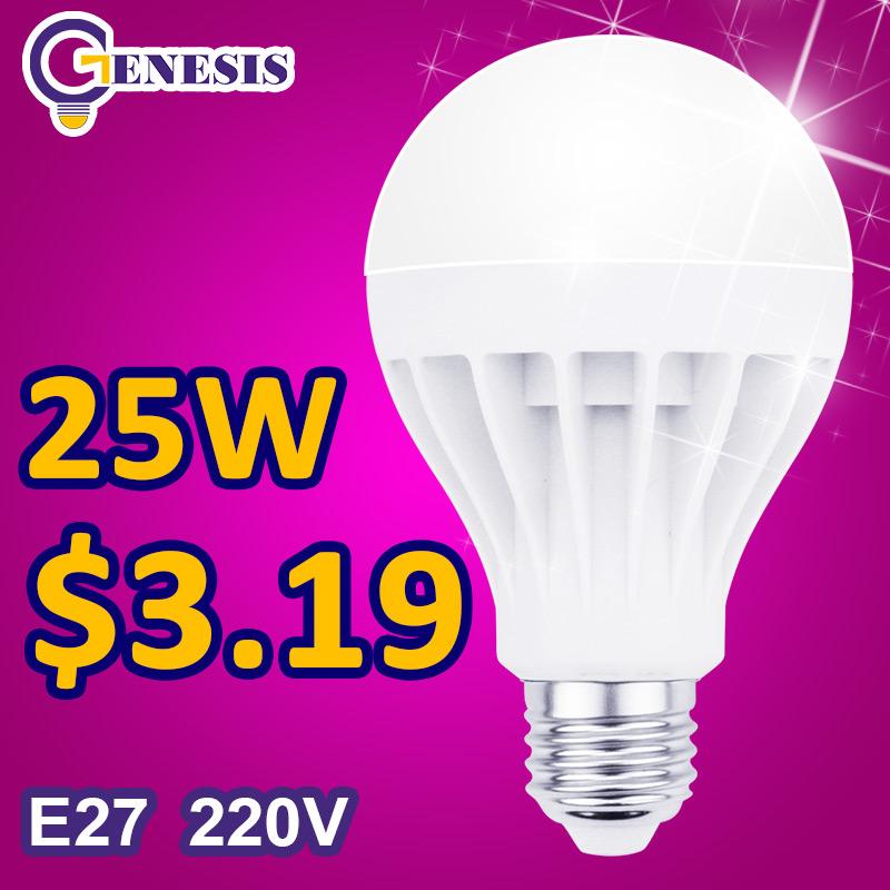 Гаджет  New year Festival Led bulb 25w 220V 240v e27 LAMPS 5730 SMD White Warm White batter Energy Saving Light for home None Свет и освещение