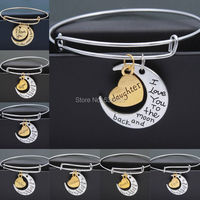 Family Gifts Lovers Gift Gold And Silver Letter
