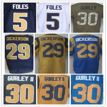 New Style #30 Todd Gurley jersey 100% Stitched Elite Jerseys Authentic #5 Nick Foles Jersey Size:M L XL XXL XXXL,Cheap Sale(China (Mainland))