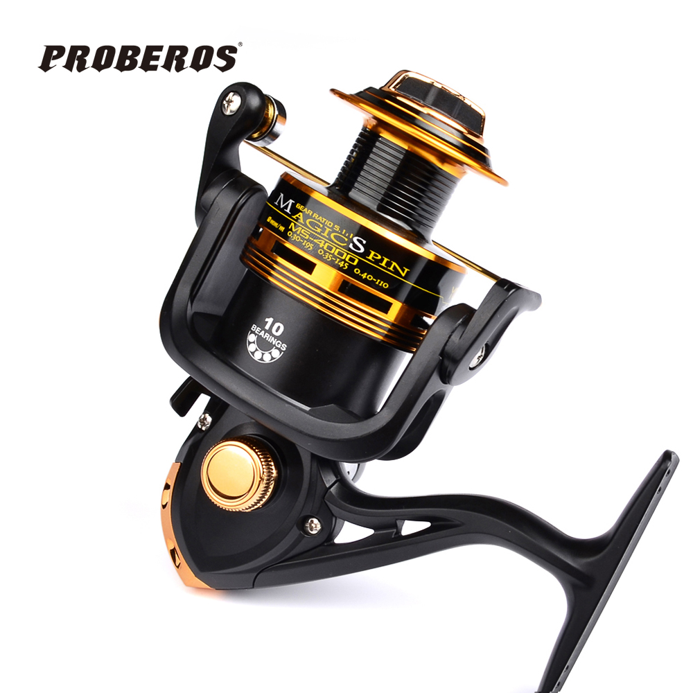 2016 full metal fishing reels 10bb ball bearings type reel for Fishing reel bearings