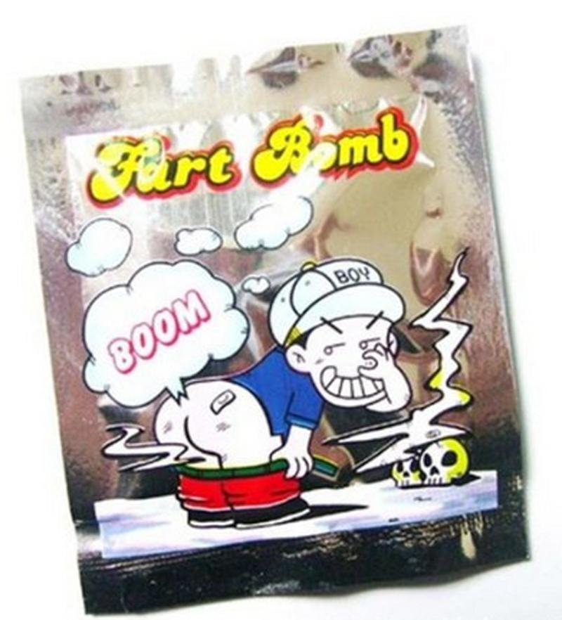 Fart Bomb bag 20 pcs/set Joke Smelly prank stink bombs funny joke toy(China (Mainland))
