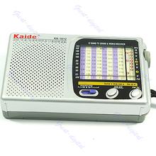 Free Shipping Portable TV FM AM Pocket Radio Receiver DC 3V 300mA New