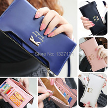 2015 New Lovely Lady Women Purse Long Zip Wallet cc   PTCT
