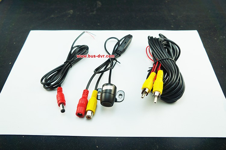 New Arrived 4CH Mobile DVR With 1pcs Dual Lens Car Camra+ 2pcs Car Camera