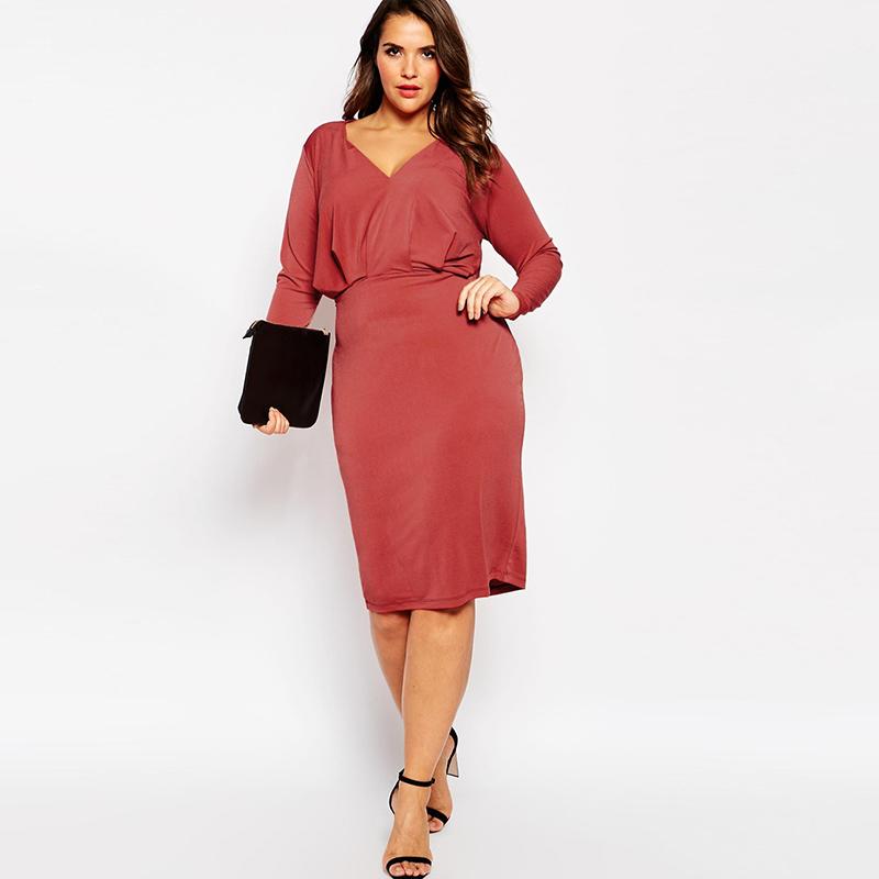 new 2016 winter women dresses Casual Vestidos Plus Size ...