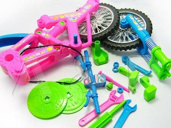 Cycle Challenger, Super Bike Disassembly and Assembly, Educational Removable Toys to Develop Practical Ability, Footloose play