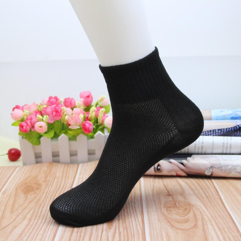 10 шт. = 5 pairs новый горячая распродажа лето стиль мужские носки марка качество полиэстер футбол спорт сетки носок для мужчин бесплатная доставка