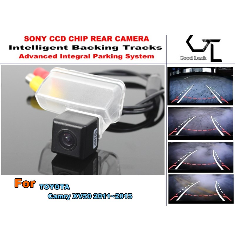 Backing Tracks Chip Camera For TOYOTA Camry XV50 2011~2015 Car Rear View Camera  CCD Color Car Electronic Accessory<br><br>Aliexpress