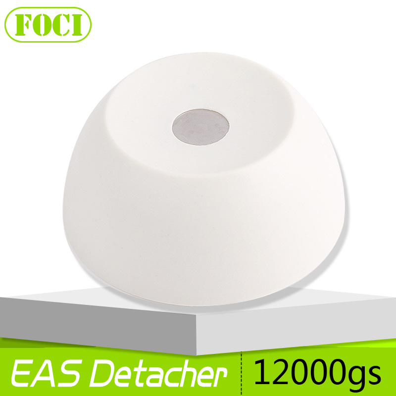 Golf Detacher Security Tag Remover EAS Magnetic Intensity12000gs Anti-theft plastic Material Color Milky White(China (Mainland))
