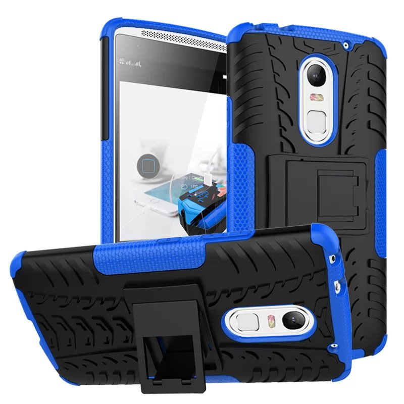 Fashion Touch Armor Cover Heavy Duty Defender Case for Lenovo Vibe X3 Lemon X3 Protective Phone Cases With Stand Function Design(China (Mainland))