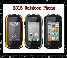 2016 Outdoor phone J5 Rainproof Mobile Phone Andorid4.2 Smartphone MTK6572 J5 Dustproof Shockproof sport phone Dual SIM card