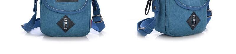 Досуг мужская мода кроссбоди мешок старинных холст досуга сумка мужчин бизнес офис женщины маленькую ретро сумка