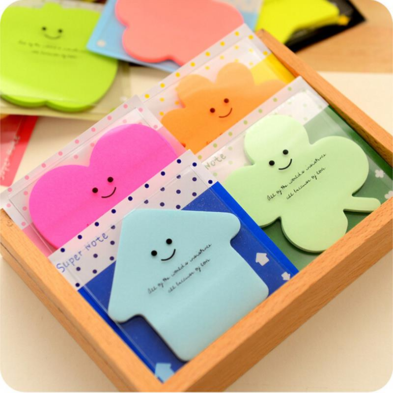 Kawaii Memo Pad Sticky Notes Low Price Stationery Products Office Supplies(China (Mainland))
