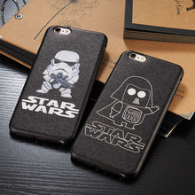 Buy Fashion classical Star Wars Episode mate back cover case iphone 7 6 6s plus 5.5 4.7 carcasa capa coque fundas black cases for $2.79 in AliExpress store