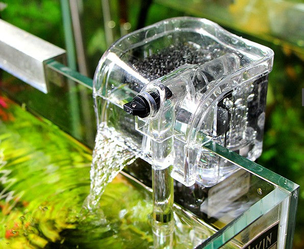 2015 biological aquarium water upside down in the fine filter 220V 120L(China (Mainland))