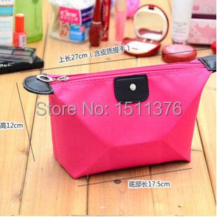 New Dumpling-shaped makeup bag organizer waterproof cosmetic bag case women wash bag brand cosmetic bags necessaries wholesale(China (Mainland))