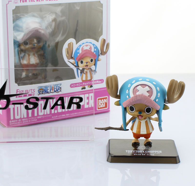 Free Shipping Cute 2.5 One Piece Tony Tony Chopper After 2 Years Zero PVC Action Figure Model Collection Toy<br><br>Aliexpress
