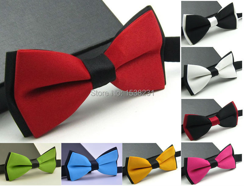 Mens Fashion Tuxedo Classic Adjustable Wedding Party Necktie Bowtie Bow Tie NEW BWTYY0005